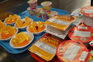 Students can enjoy breakfast at school!