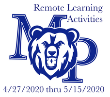 Final Remote Learning Activities List for Grades 6 through 8