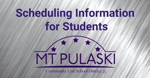 Scheduling Information for Students & Parents