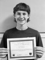 October 8th Grade Student of the Month