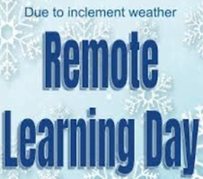 Remote Learning Day -  Tomorrow!