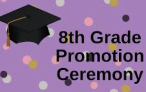 8th Grade Promotion Ceremony Set